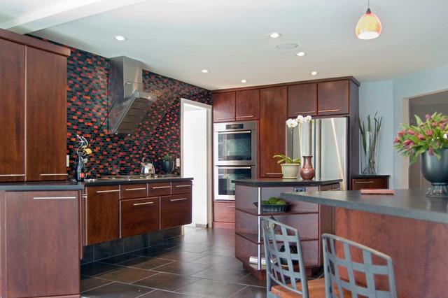 Kitchen and baths renovation, Villanova, Pennsylvania modern-kitchen