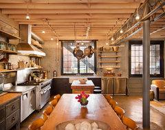 Kitchen & Dining Room industrial-kitchen