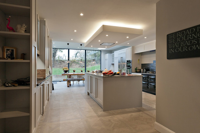 Kitchen And Dining Room Extension Contemporary Kitchen