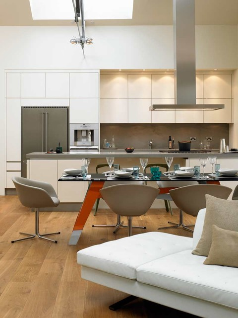 Dining Table Kitchen Kitchen and dining table modern kitchen london by david kitchen and dining table modern kitchen workwithnaturefo