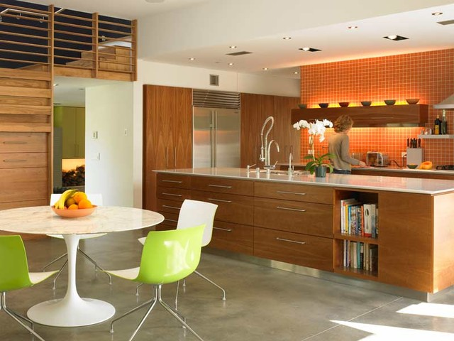 Kitchen and Dining Table modern-kitchen
