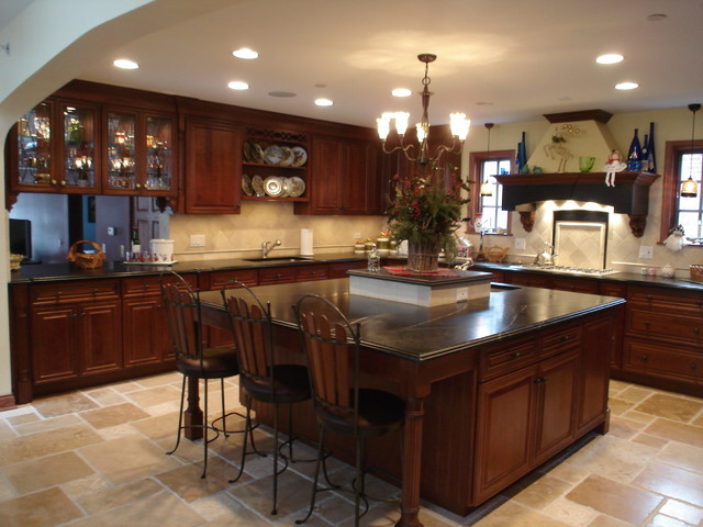 Kitchen amp; Eating area  Traditional  Kitchen  chicago