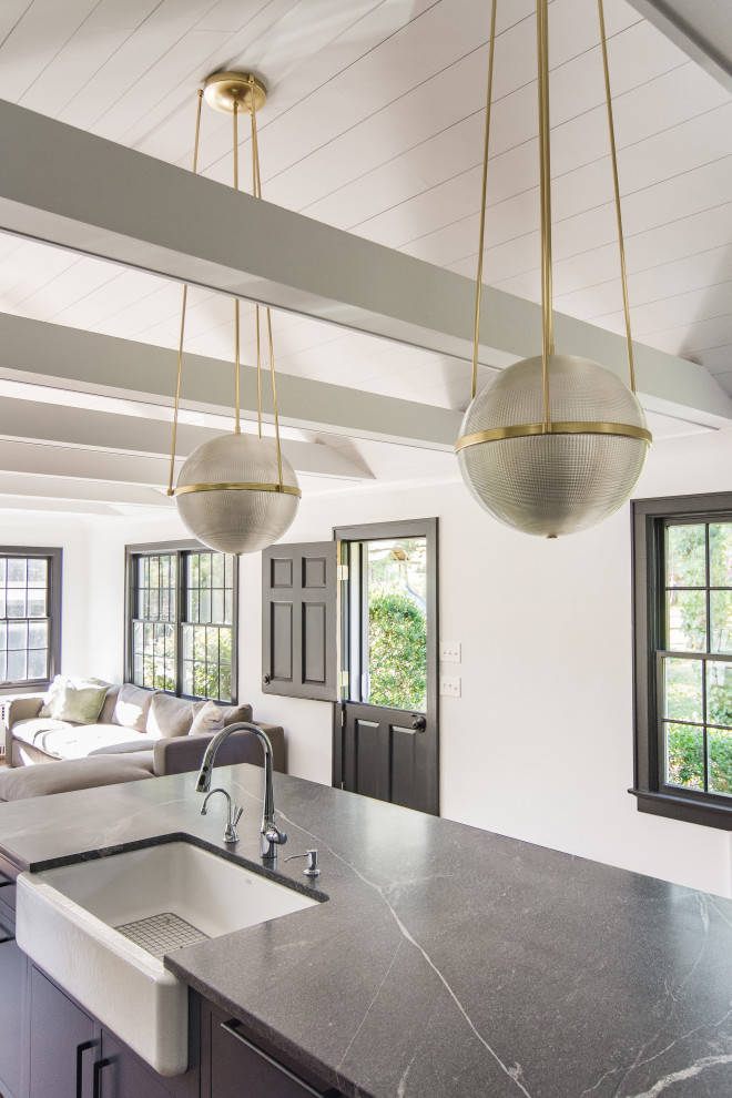 Kitchen Family Room Maplewood Industrial Kitchen Newark By Cbh Architects