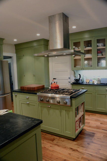 Kitchen and family room renovation traditional-kitchen