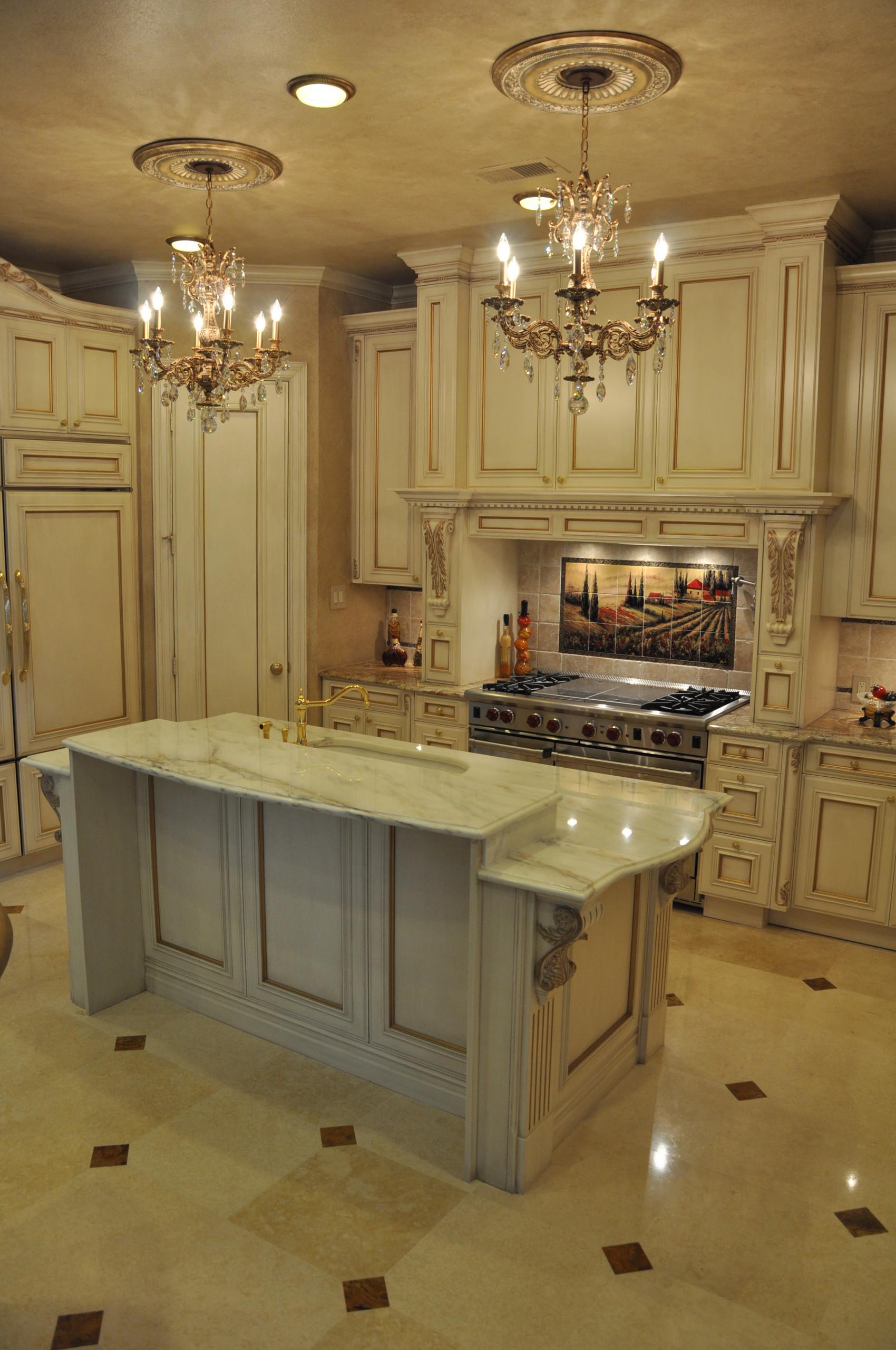 Kitchen and floor remodel.