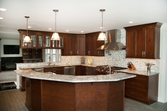 Kitchen and Great Room Remodel contemporary-kitchen