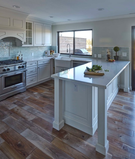 kitchen and master bath - traditional - kitchen - san francisco