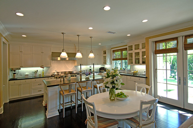 Kitchen and Morning Room Traditional Kitchen Los Angeles by