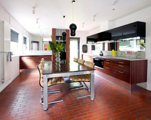 modern kitchen by Walk interior design limited