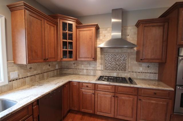 Kitchen B'splash traditional-kitchen