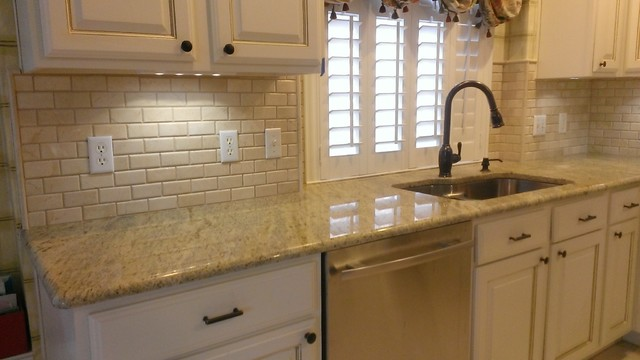 Kitchen Backsplash 2 Quot X 4 Quot Crema Marfil Beveled Subway
