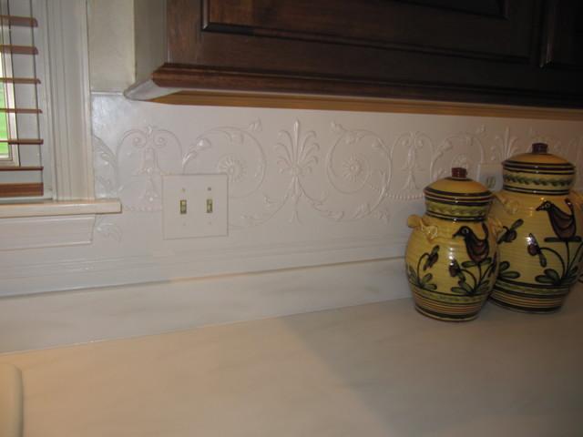 Kitchen Backsplash Accents traditional-kitchen