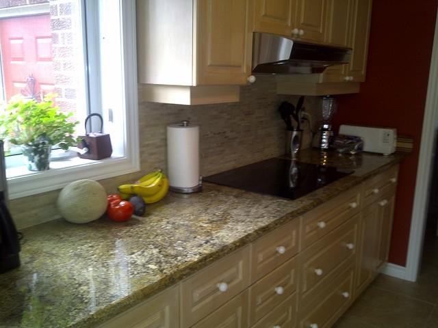 kitchen backsplash countertop contemporary kitchen