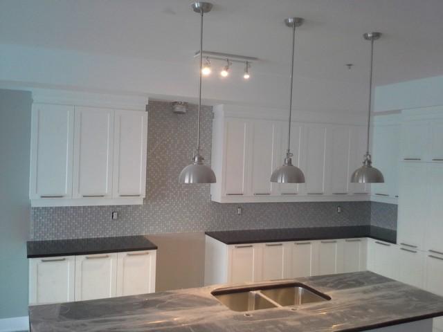 kitchen backsplash mosaic contemporary kitchen