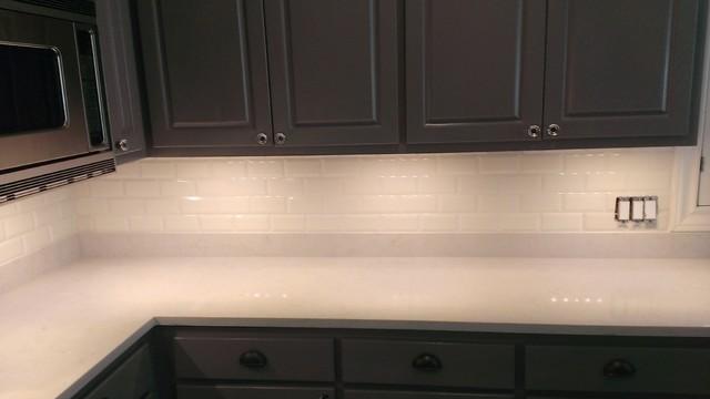 kitchen backsplash ann sacks 3 x 6 beveled subway