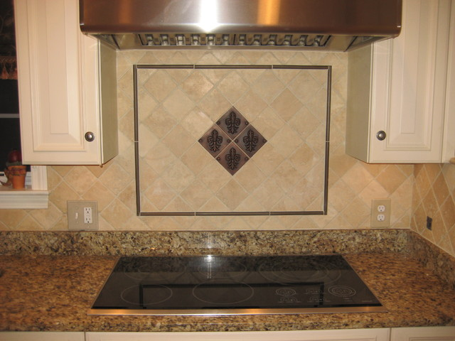 Kitchen backsplash traditional kitchen boston by for Traditional kitchen wall tiles