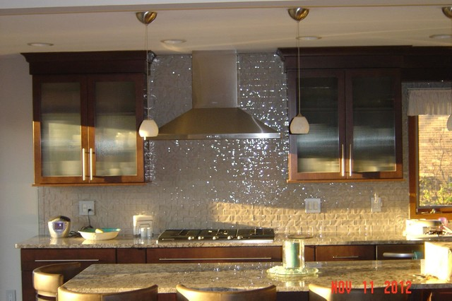 Elegant Kitchen Backsplash Ideas Transitional Kitchen