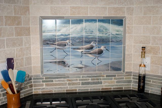 Kitchen Backsplash Ideas Beach Style Kitchen