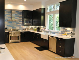 Kitchen Backsplash Contemporary Kitchen San Francisco By