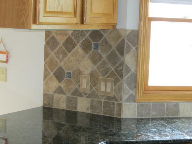 Kitchen Backsplash Medina, OH #1 traditional-tile