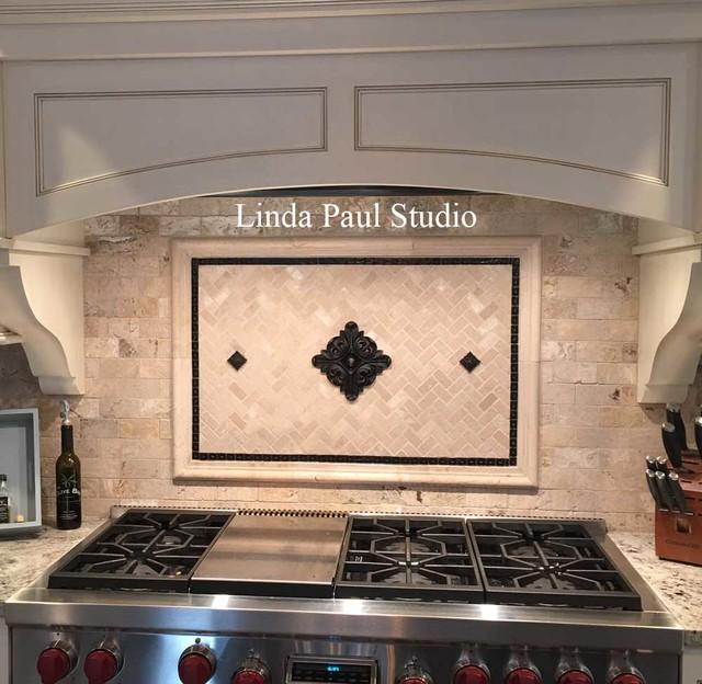 Kitchen Backsplash Murals, Mosaic Medallions and Accent ...