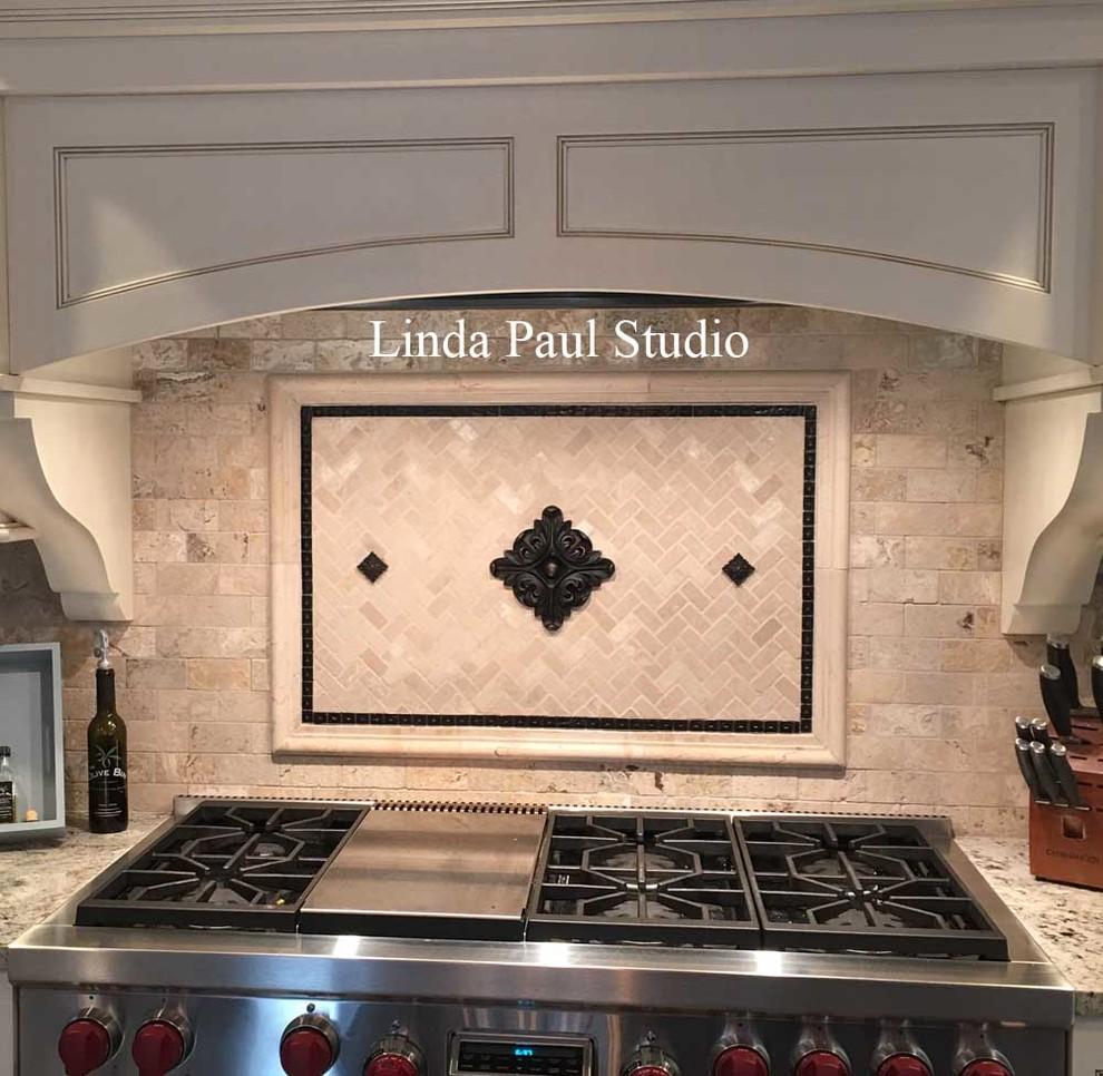 - Kitchen Backsplash Murals, Mosaic Medallions And Accent Tiles