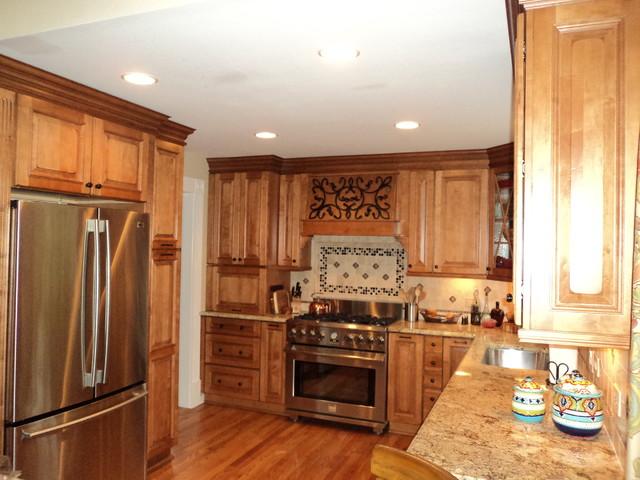 kitchen backsplash traditional kitchen chicago by