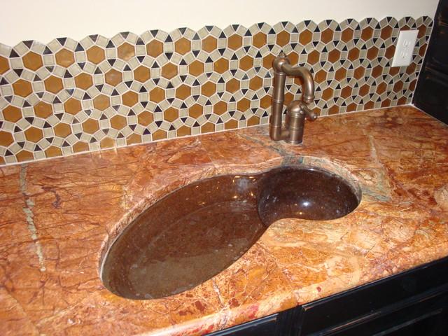 Kitchen Backsplash mediterranean-kitchen