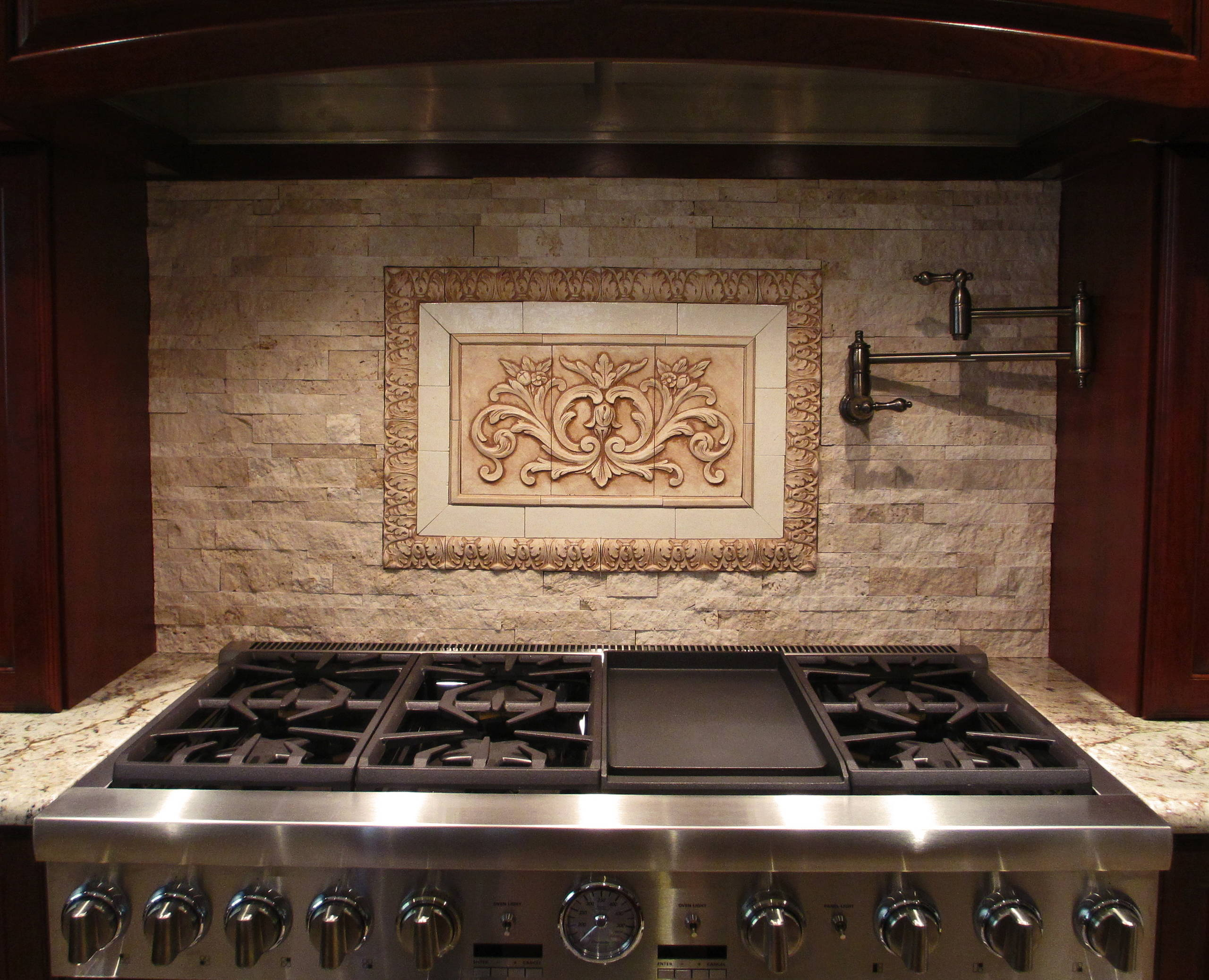 Decorative Tile Backsplash Houzz
