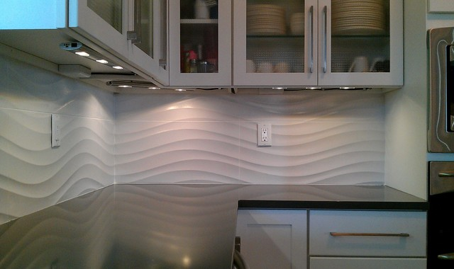 Http Www Houzz Com Photos 3878414 Kitchen Backsplash Wave Panel Tile Contemporary Kitchen Austin