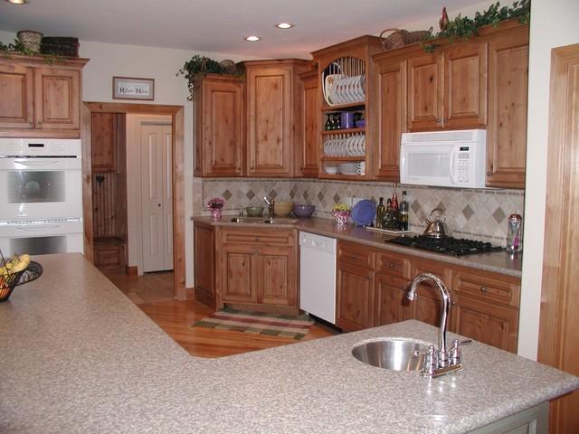 Kitchen Backsplashes traditional-kitchen