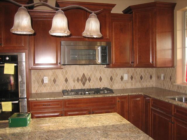 kitchen backsplashes traditional kitchen