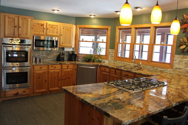 Kitchen Backsplashes Tile Stone Glass Rustic