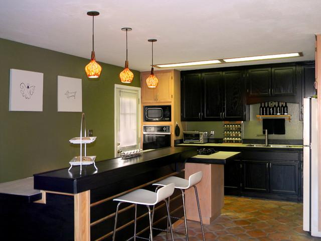 Kitchen Bar Addition Modern Kitchen Phoenix By Rob