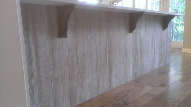 Kitchen Bar Kick Space 8 X 48 Barn Wood Panel Tile