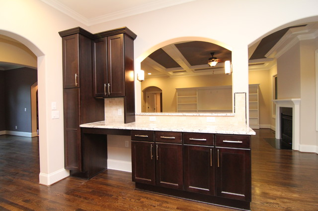 Kitchen bar - Traditional - Kitchen - raleigh - by Stanton Homes