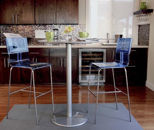 Kitchen Bar Table Seating Modern Kitchen Los Angeles By Susan Deneau Interior Design