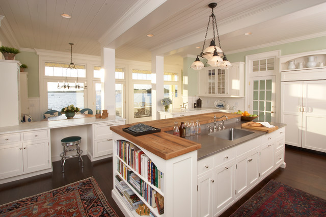 Kitchen beach morning beach style kitchen new york for New york style kitchen design