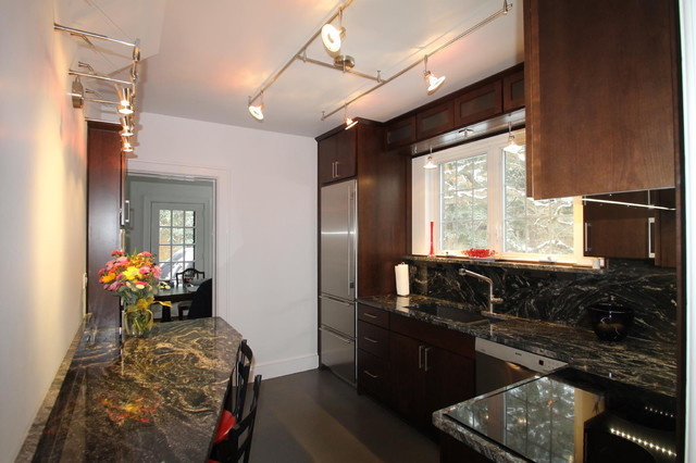 Kitchen Before and After contemporary-kitchen