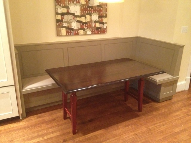 Kitchen Bench Seat Traditional Toronto By