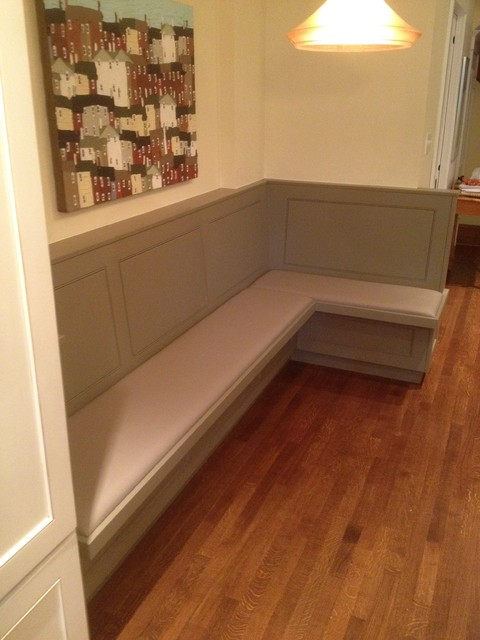 Kitchen Bench Seat Traditional Kitchen Toronto By Tim Bowdin Custom Furniture Cabinetry