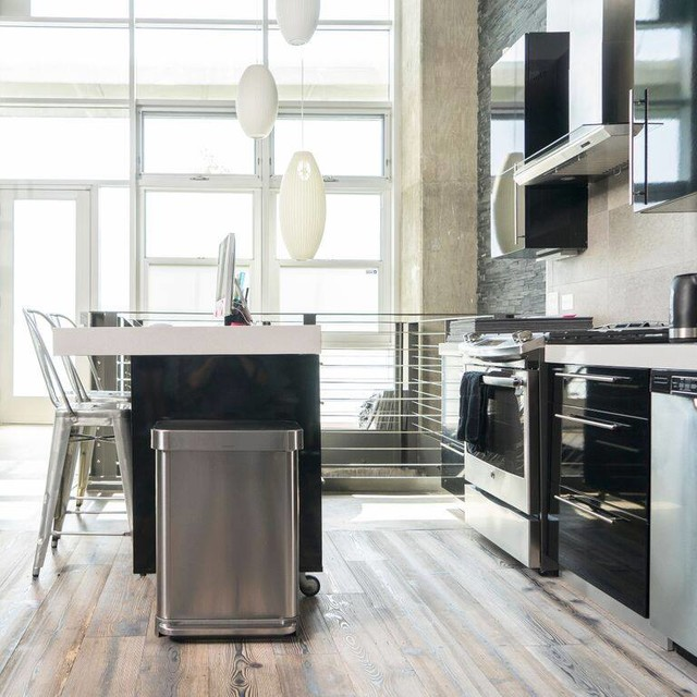 kitchen bin ideas contemporary kitchen by binopolis kitchen island trash bin kitchen ideas