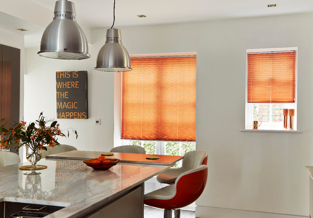 Modern Kitchen Blinds kitchen blinds and interiors - modern - kitchen - other -hillarys
