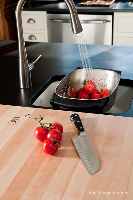Kitchen Butcher Block Top moderne-koekken