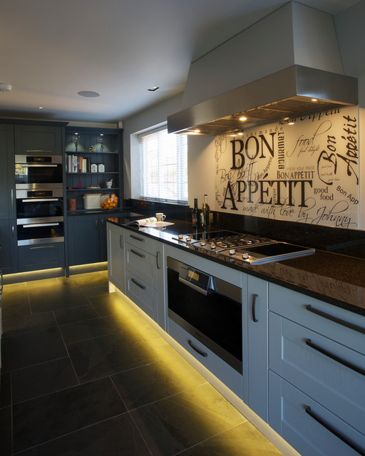 Kitchen By Slightly Quirky Contemporary Kitchen London By