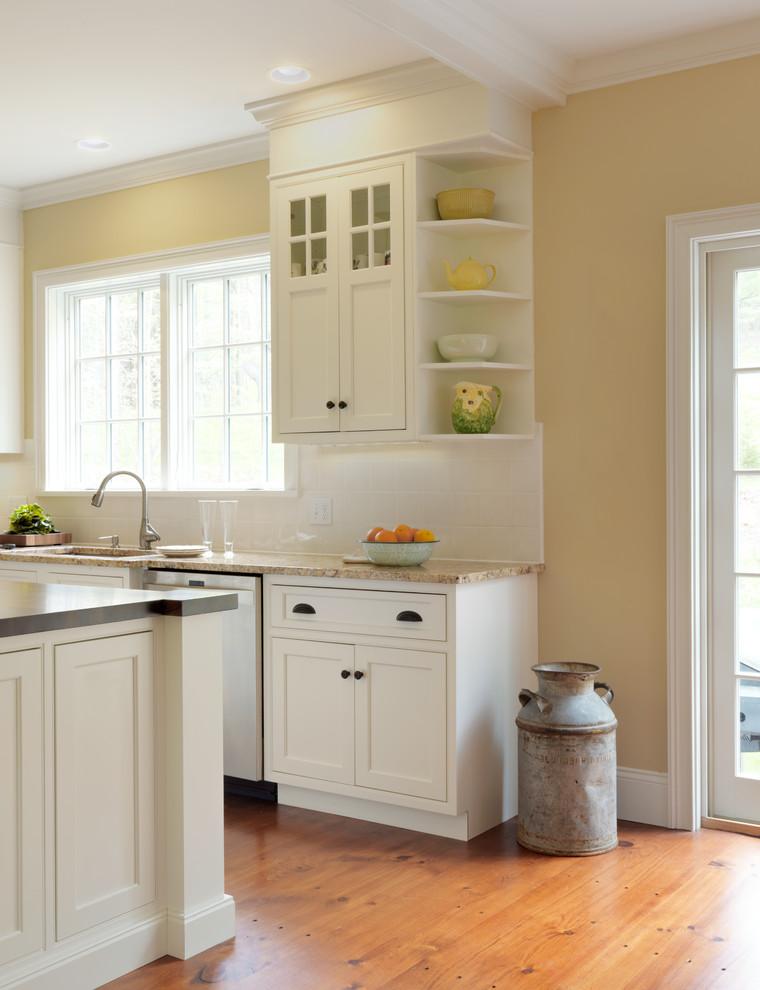 Kitchen Cabinet Corner Shelf Kitchen cabidisplay shelf   Farmhouse   Kitchen   Burlington