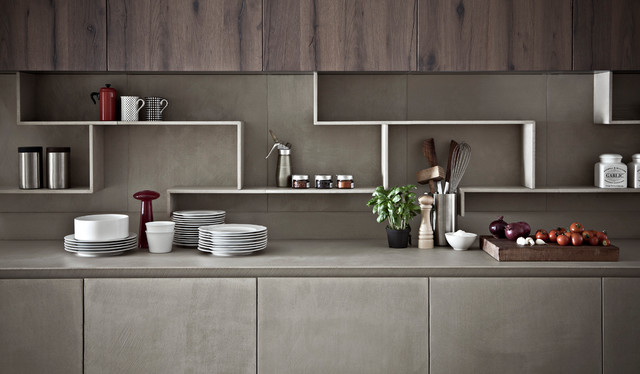 Kitchen cabinet finishing in resin contemporary kitchen cabinets