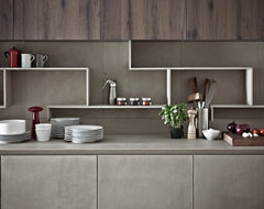 Kitchen Cabinet Finishing in Resin contemporary-kitchen-cabinetry