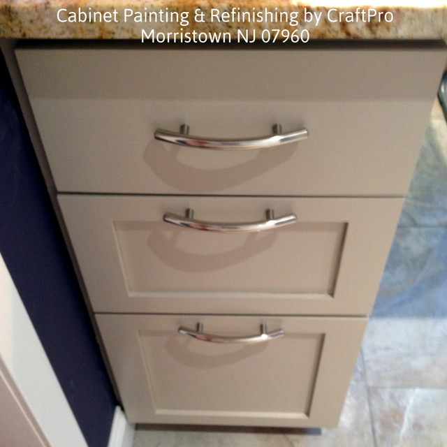 Kitchen Cabinet Painting and Refinishing - Traditional - Kitchen ...