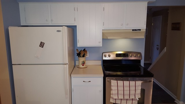 Kitchen Cabinet Painting Rochester Ny Campagne Cuisine Other Metro Par Red Truck Painting